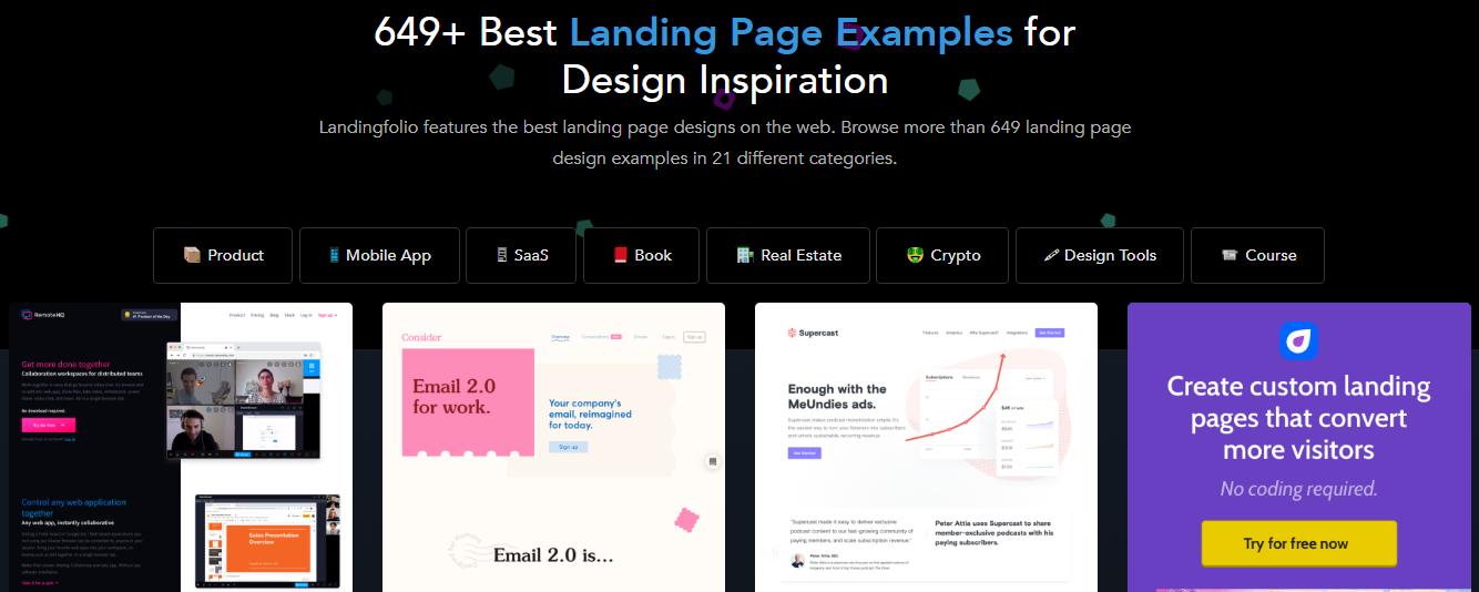 Landing Page di Landingfolio.com