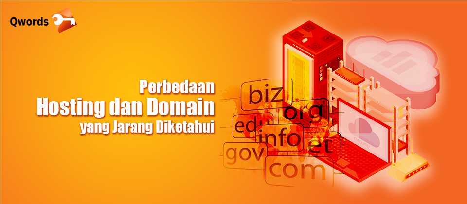 Perbedaan Hosting dan Domain yang Jarang Diketahui
