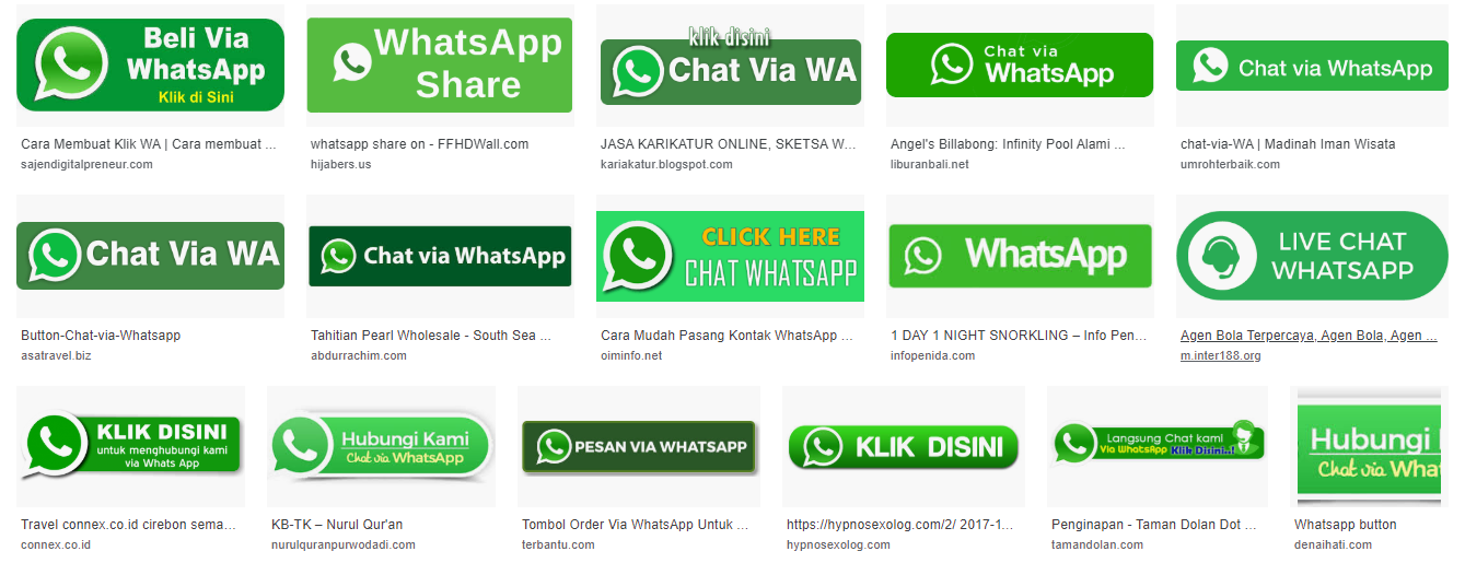 Contoh CTA Button WhatsApp