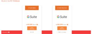 Harga Paket Google Suit Qwords