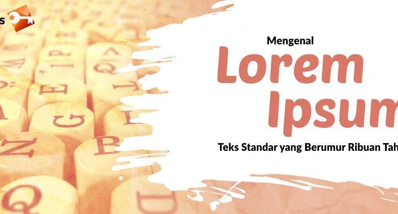 Pengertian Lorem Ipsum