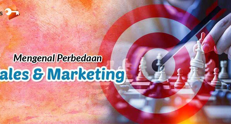 Mengenal Perbedaan Sales dan Marketing