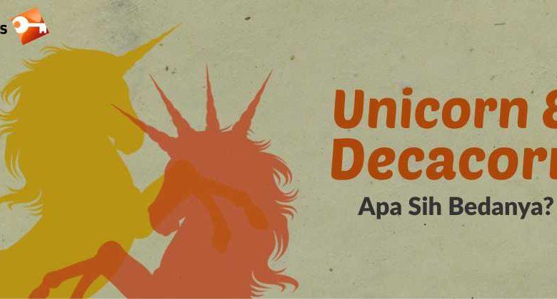 Unicorn dan Decacorn, apa sih bedanya