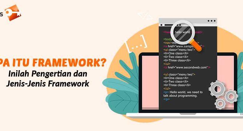 Apa Itu Framework Inilah Pengertian dan Jenis-Jenis Framework