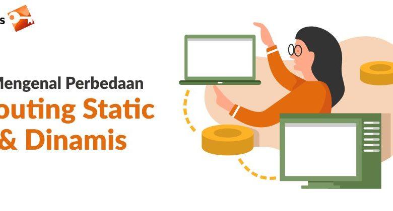 Routing static dan routing dinamis