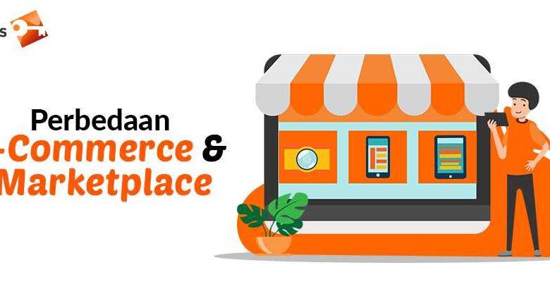 Perbedaan E-Commerce dan Marketplace