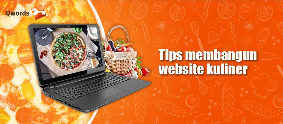 tips membangun website kuliner