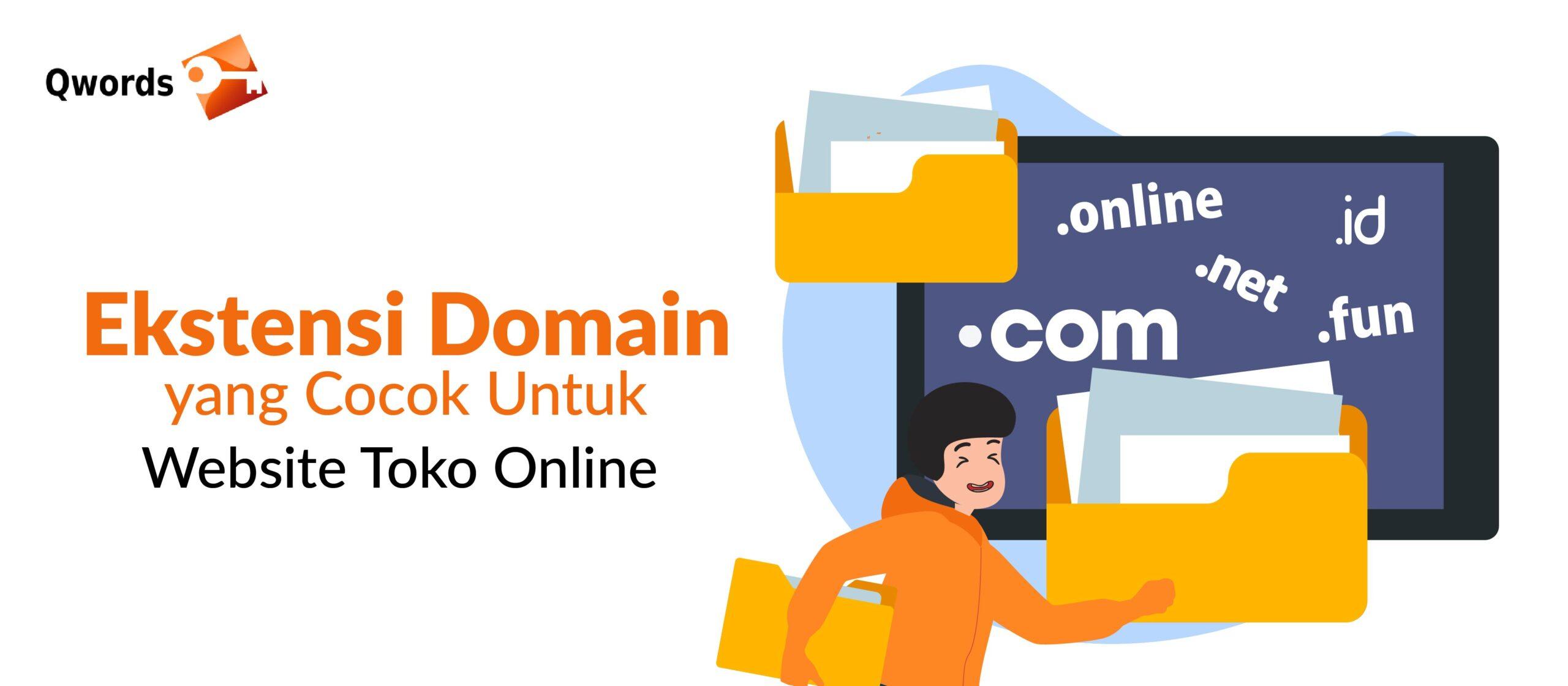 Ekstensi Domain yang cocok untuk website