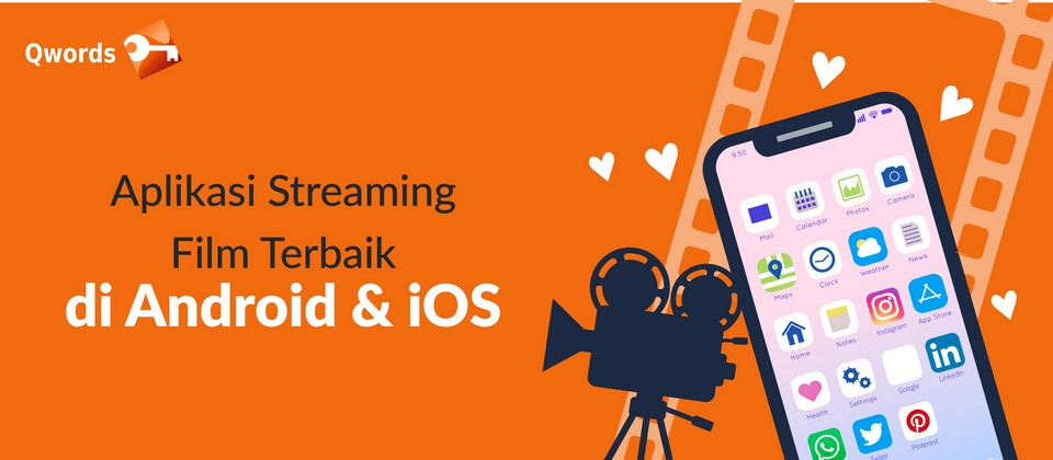 Aplikasi Streaming Film Terbaik di Android & iOS