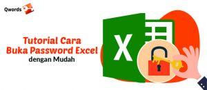 Cara Buka Password Excel