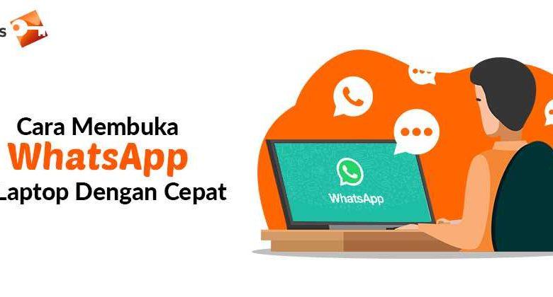 Cara Membuka WhatsApp