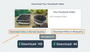 Pilihan kualitas video