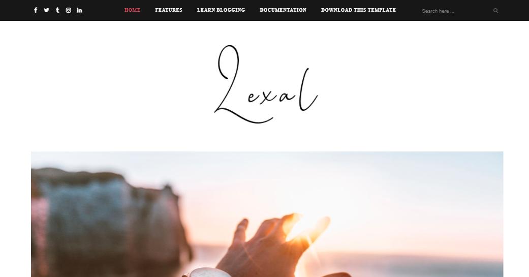 Lexel Template Blogspot