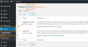 Add New Plugin Duplicate Post