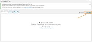 Create New Duplicate Website