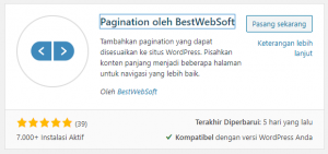 Pagination by BestWebSoft