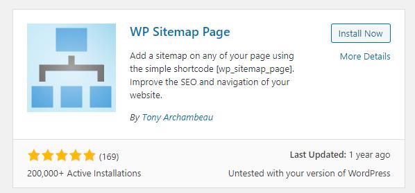 Plugin sitemap WordPress