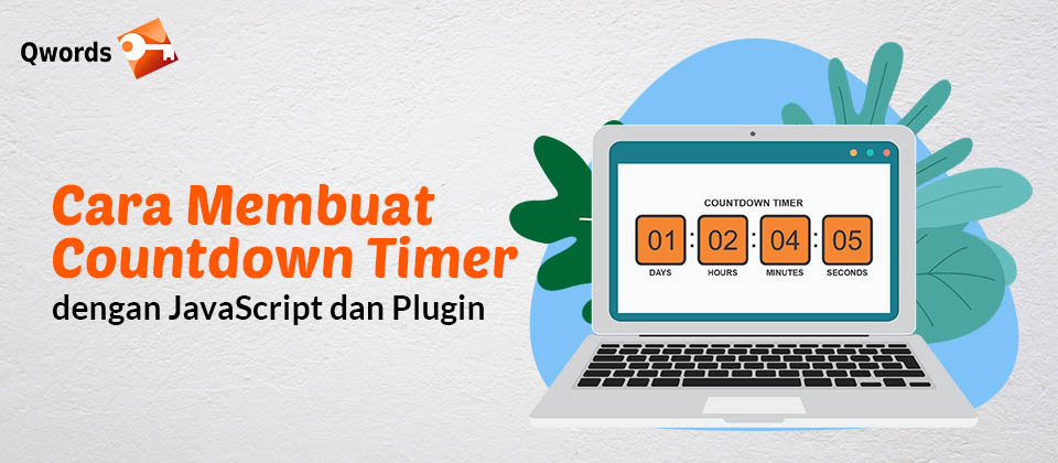 Cara Membuat Countdown Timer dengan JavaScript dan Plugin