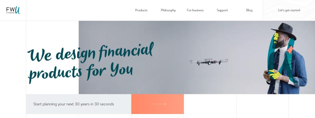 Contoh Desain Web Dengan Kombinasi Foto dan Ilustrasi