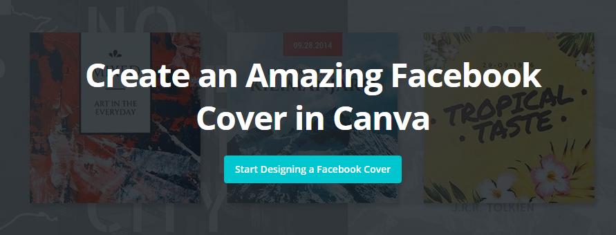 Membuat Sampul Facebook Keren di Canva