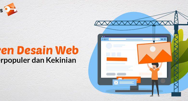 Tren Desain Web Terpopuler dan Kekinian