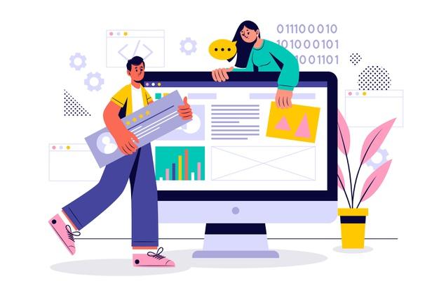 contoh website desain