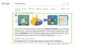 SERP Featured Snippets
