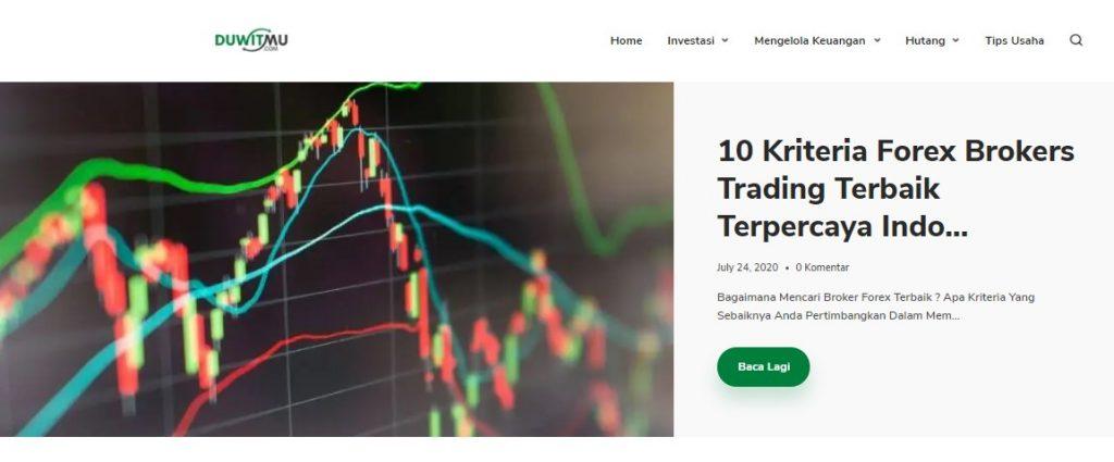 Contoh Blog dengan Niche Personal Finance