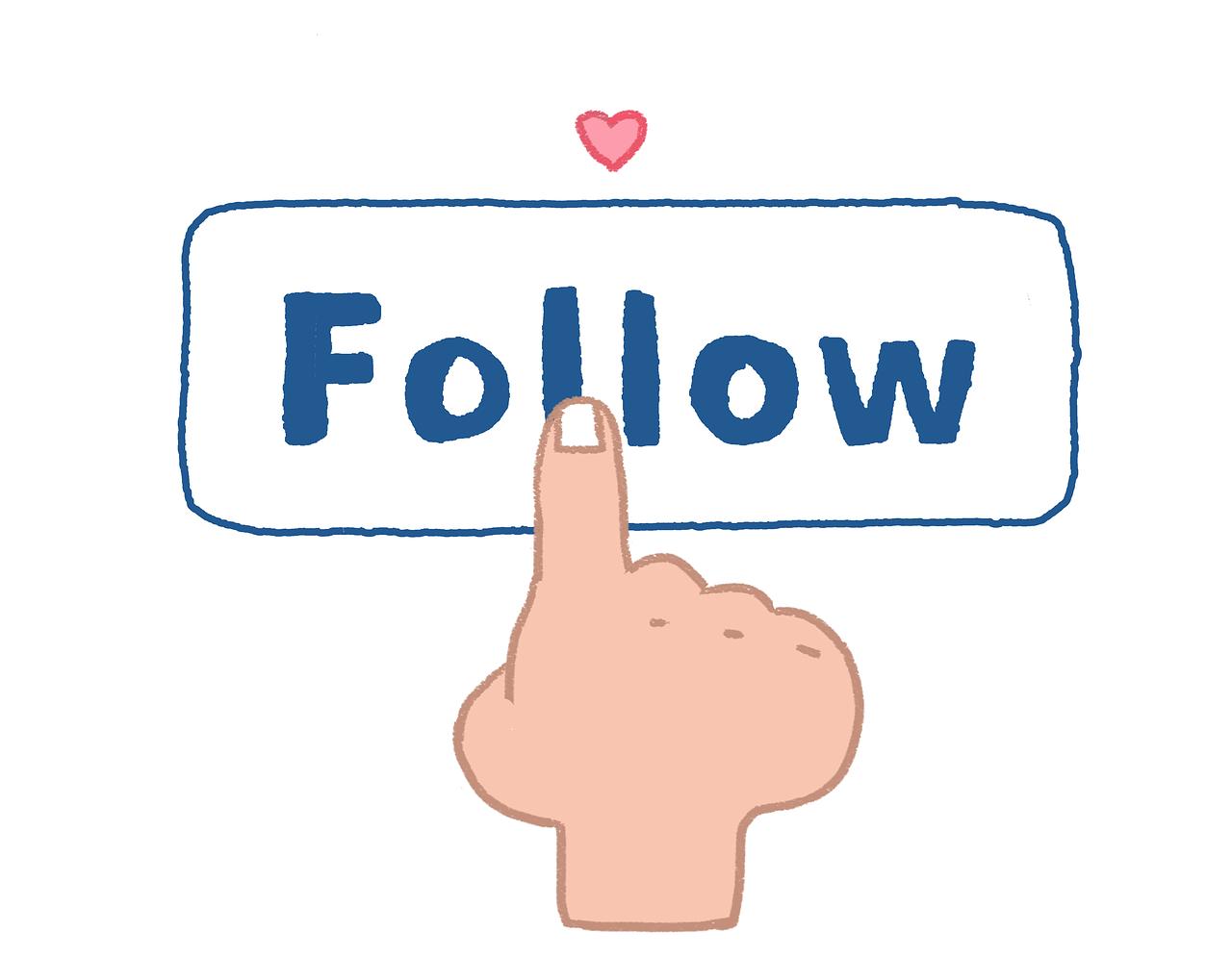 Follow Akun Media Sosial