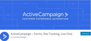ActiveCampaign Live Chat