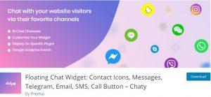 Floating Chat Widget