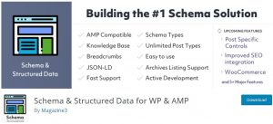 Schema & Structure Data for WP & AMP