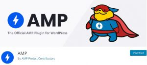 The Official AMP Plugin for WP