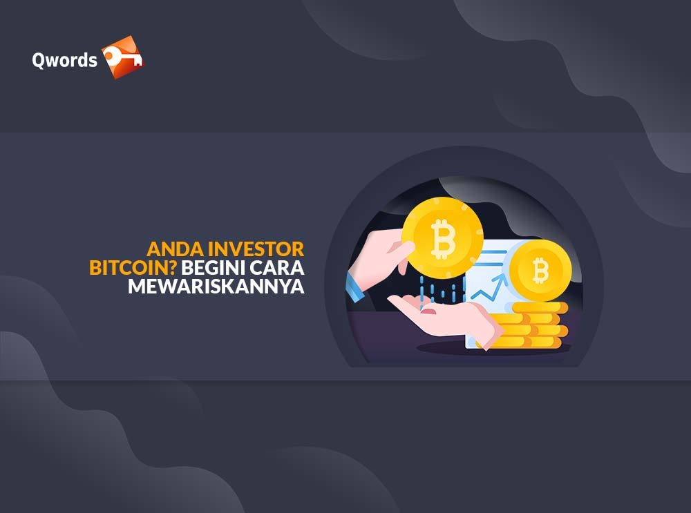 cara mewariskan bitcoin