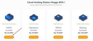 Pembelian hosting